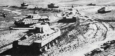 Пантеры 5-й танковой дивизии СС Викинг