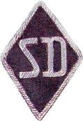 Нашивка службы безопасности - СД (SD)
