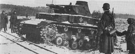 Панцергренадеры и средний танк Pz Kpfw IV
