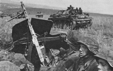 Отделение в бронетранспортере Sd Kfz 251