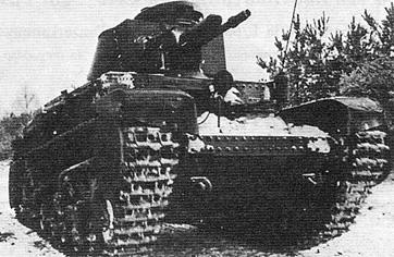 Легкий танк Pz Kpfw 35(t)