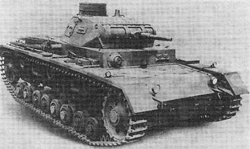 Средний танк Pz Kpfw III Ausf B