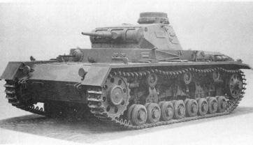 Средний танк Pz Kpfw III Ausf D