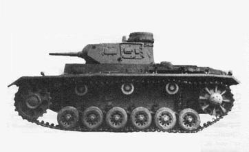 Средний танк Pz Kpfw III Ausf E