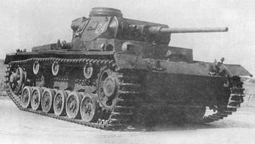Pz Kpfw III Ausf J с длинноствольной пушкой