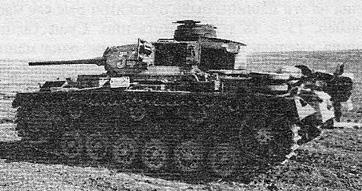 Подбитый танк Pz Kpfw III Ausf J в Украине, 1942