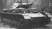 Средний танк Pz IV Ausf E