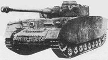 Средний танк Pz IV Ausf H
