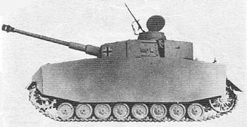 Танк Pz Kpfw IV Ausf J