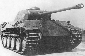 Танк Pz Kpfw V Ausf D
