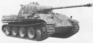 Средний танк Pz Kpfw V Ausf G