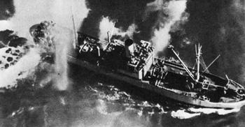 Немецкий транспорт в Данцигской бухте