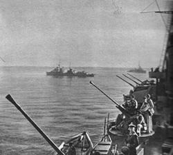 Поход кораблей Черноморского флота, 1943