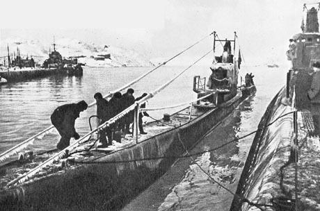 Подводные лодки Северного флота