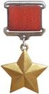 Медаль Золотая звезда